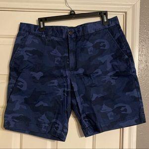 GAP blue camo preppy shorts